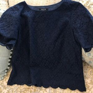 🌟Madewell beautiful Lace Top